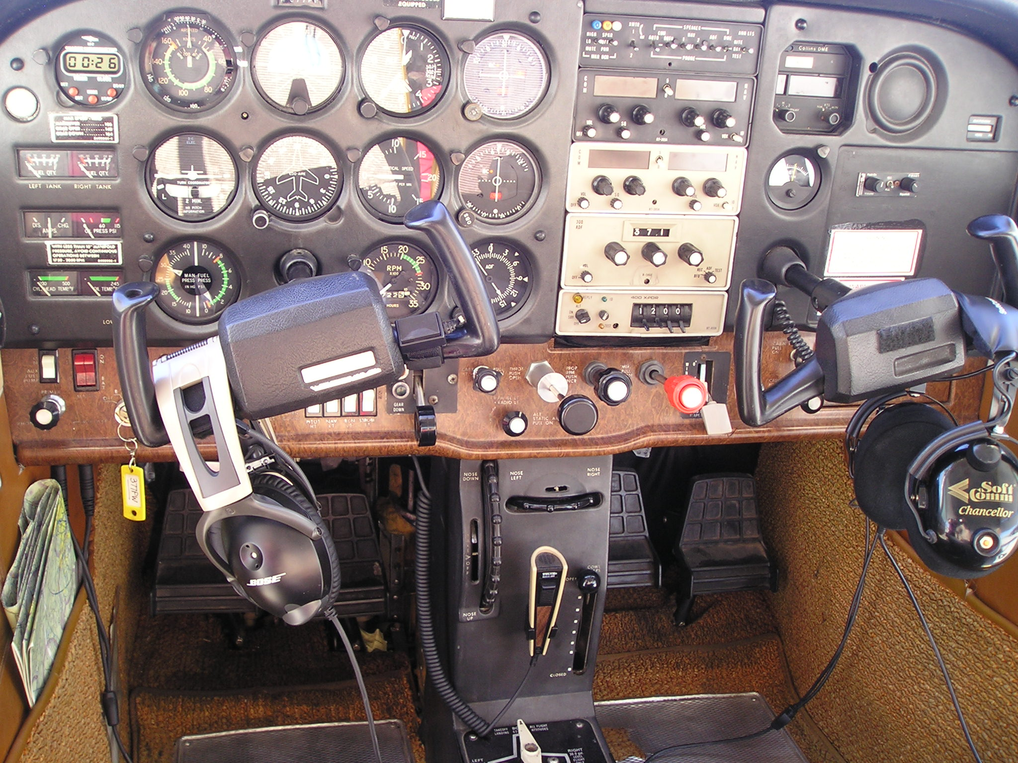 N377PW Instrument Panel N377PW Bid Sheet For Sale Page
