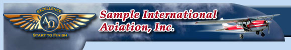 Sample International Aviation, Inc